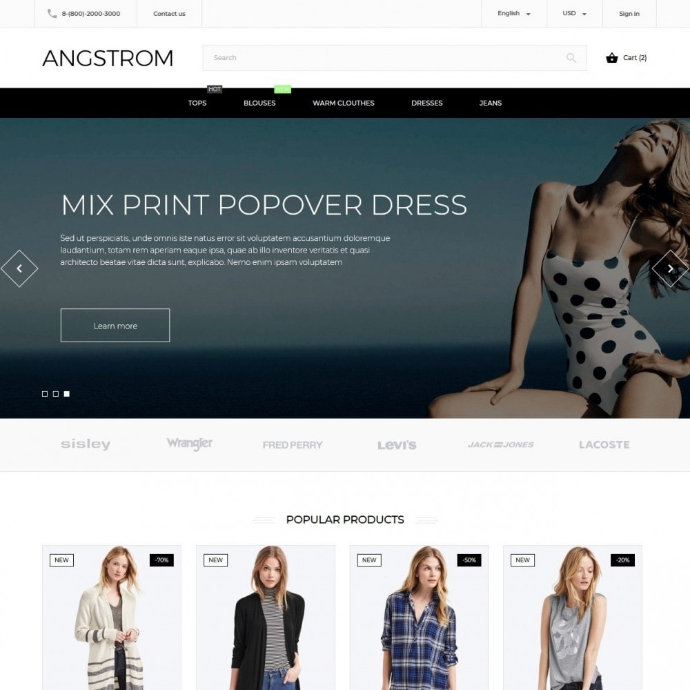 theme - Mode & Schuhe - Angstrom Fashion Store - 2