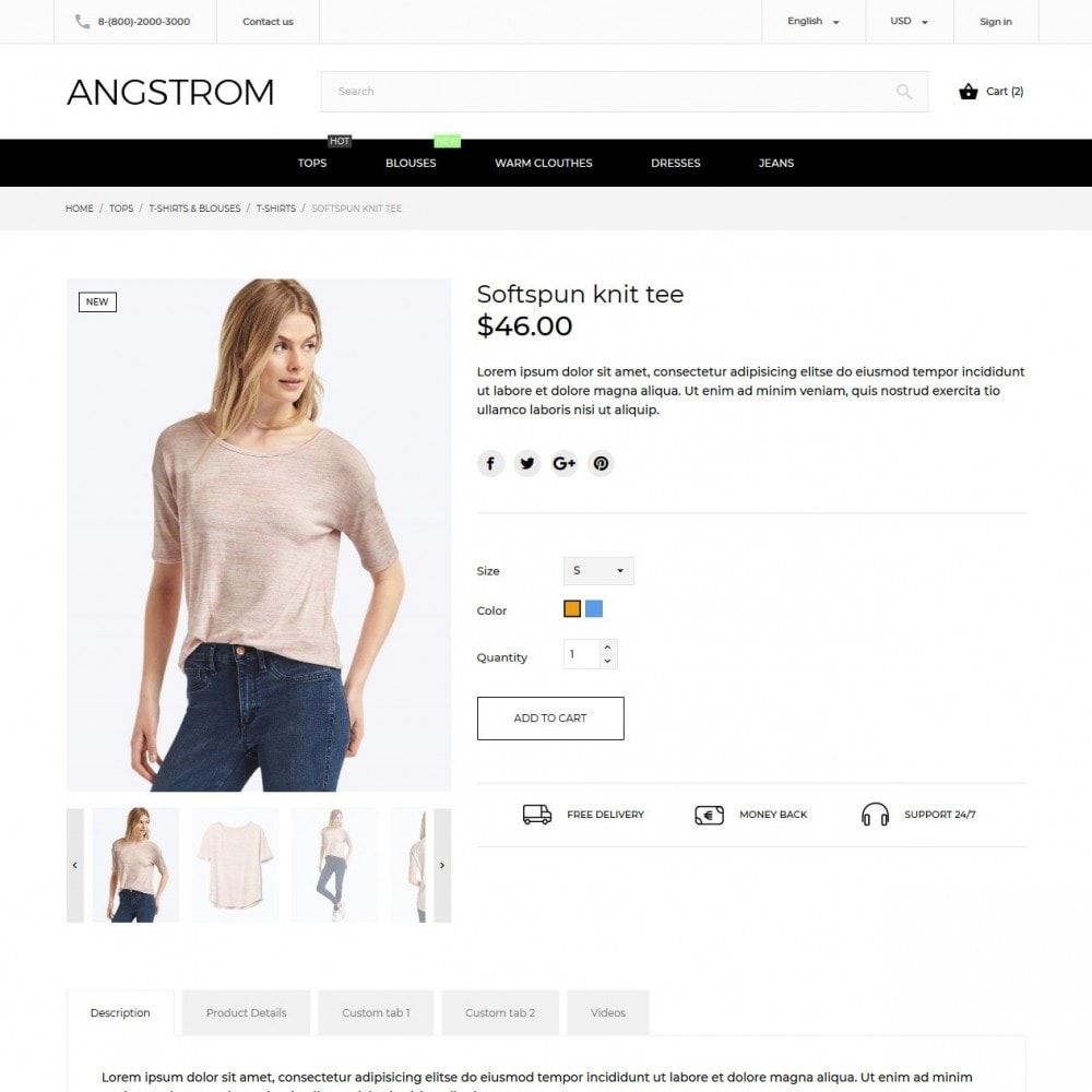 theme - Mode & Schuhe - Angstrom Fashion Store - 5