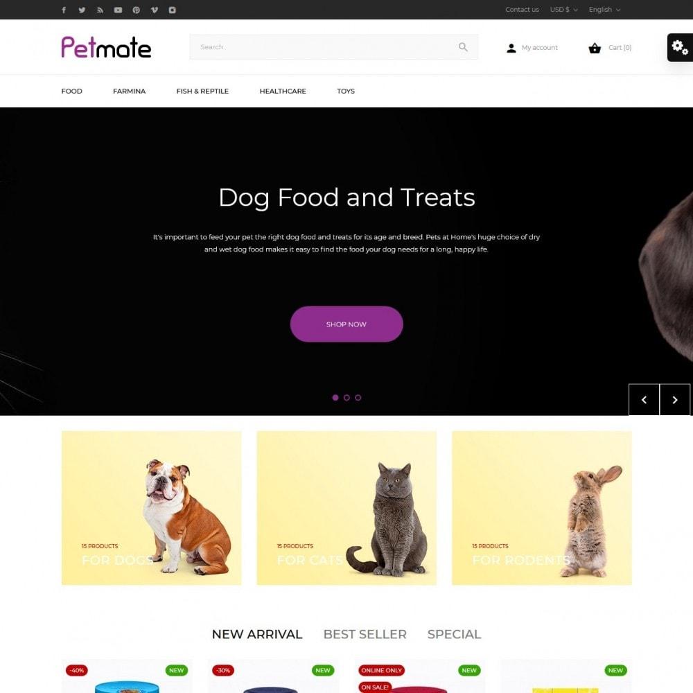 theme - Animales y Mascotas - Petmate - 2