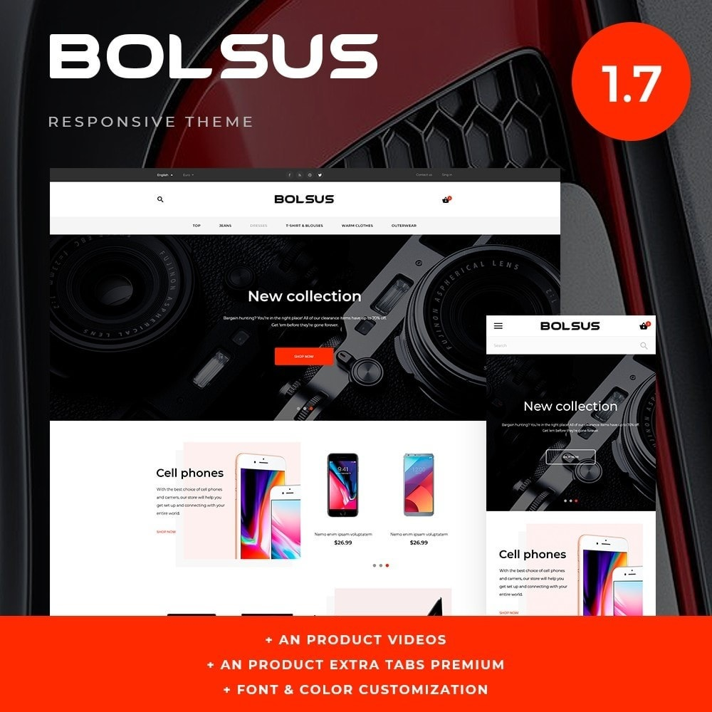 theme - Elektronica & High Tech - Bolsus - High-tech Shop - 1