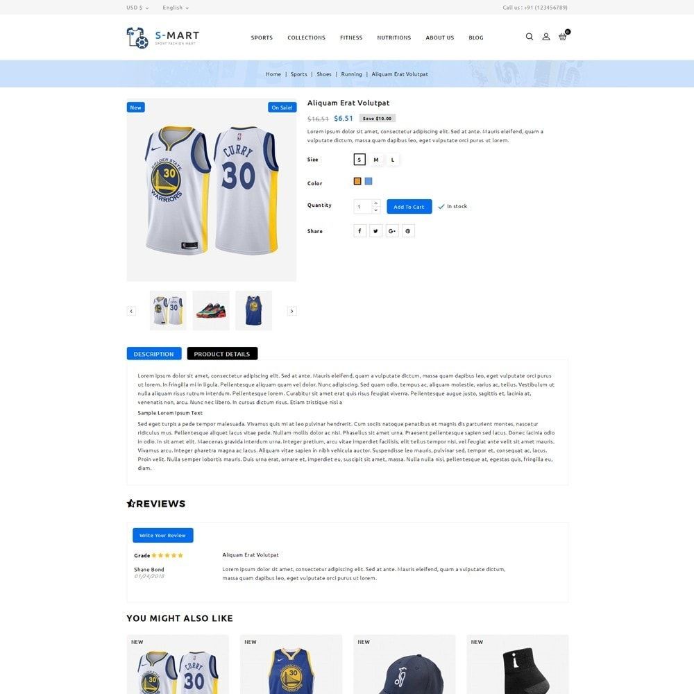 theme - Moda & Calzature - Shop Mart Sports Fashion - 5