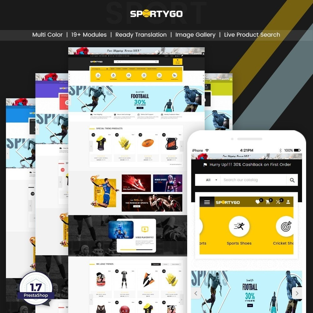 theme - Sport, Activiteiten & Reizen - SportyGo– Sport Super Store - 1