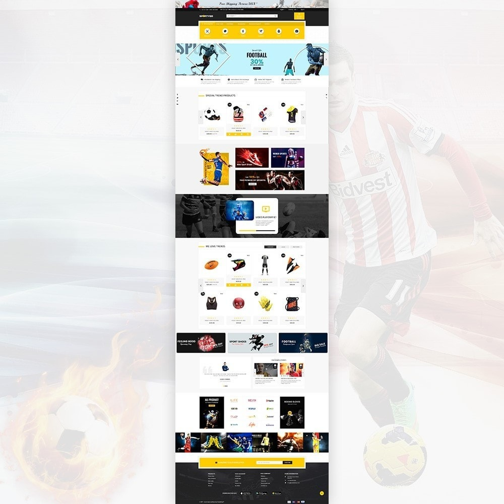theme - Sport, Attività & Viaggi - SportyGo– Sport Super Store - 2