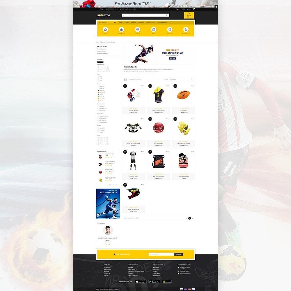 theme - Sport, Attività & Viaggi - SportyGo– Sport Super Store - 3