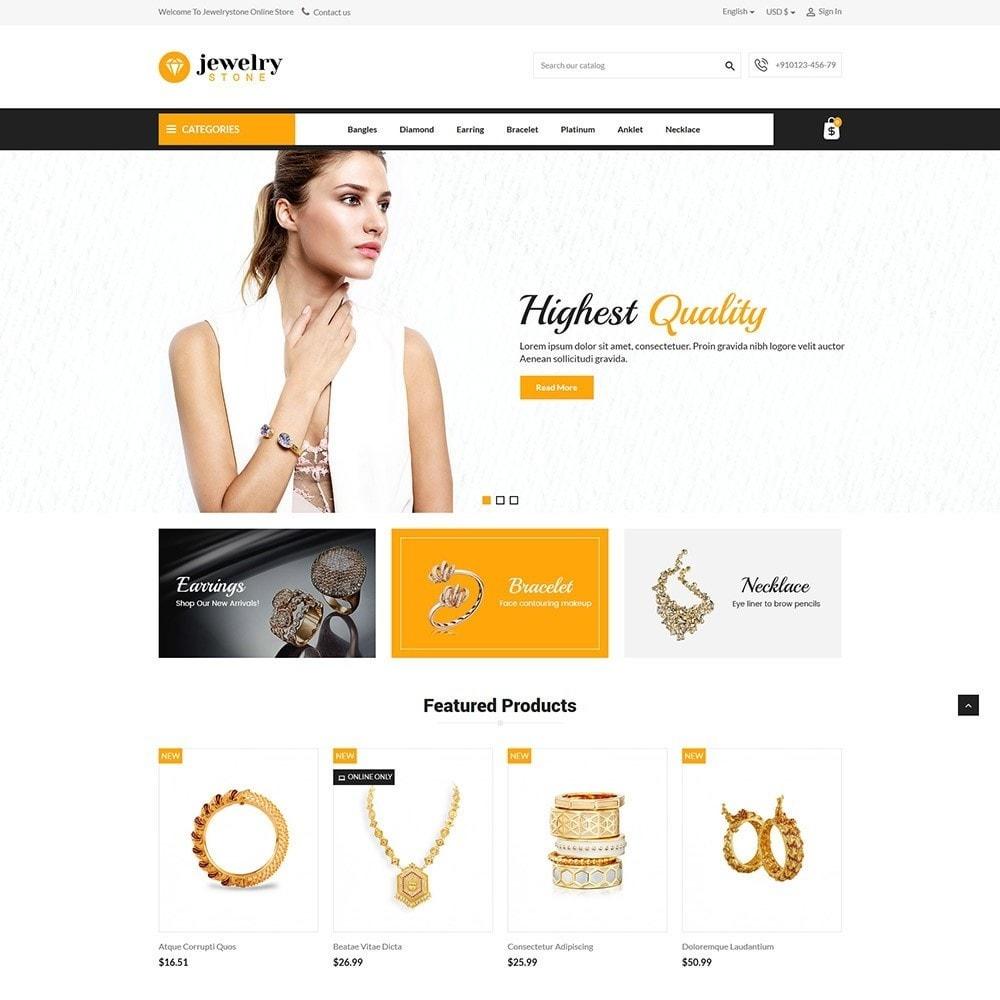 theme - Jewelry & Accessories - Jewelrystone - Jewelry Online Store - 2
