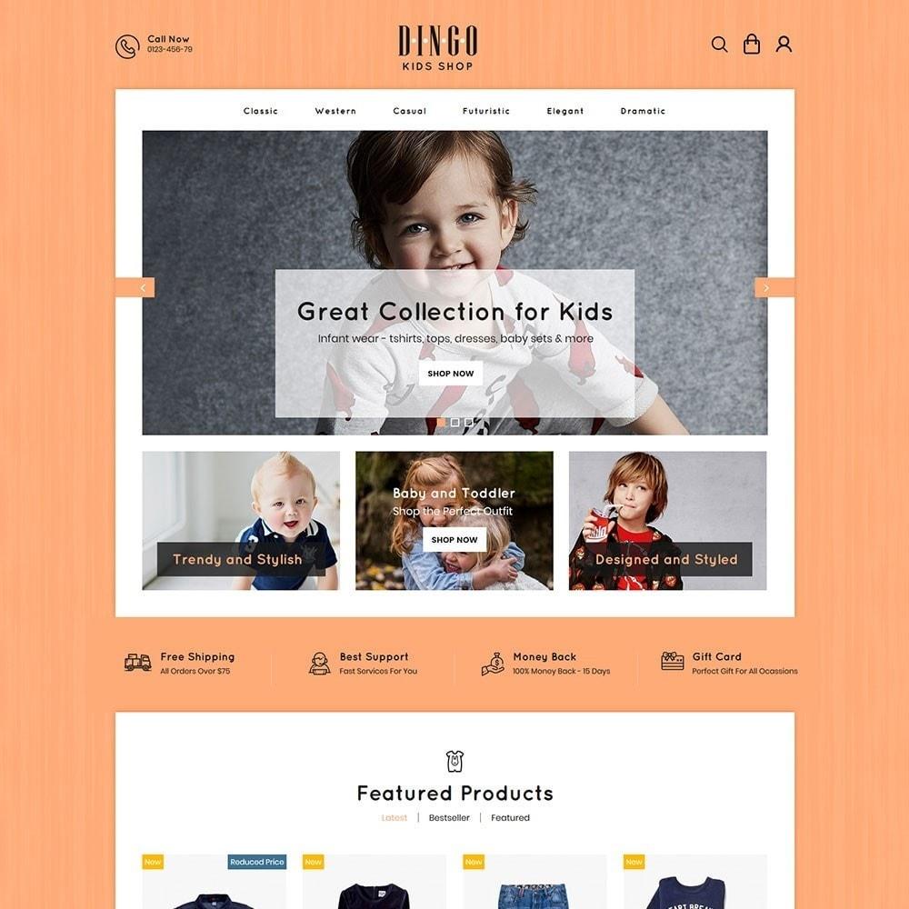 theme - Crianças & Brinquedos - Dingo - Kidswear Online Store - 2