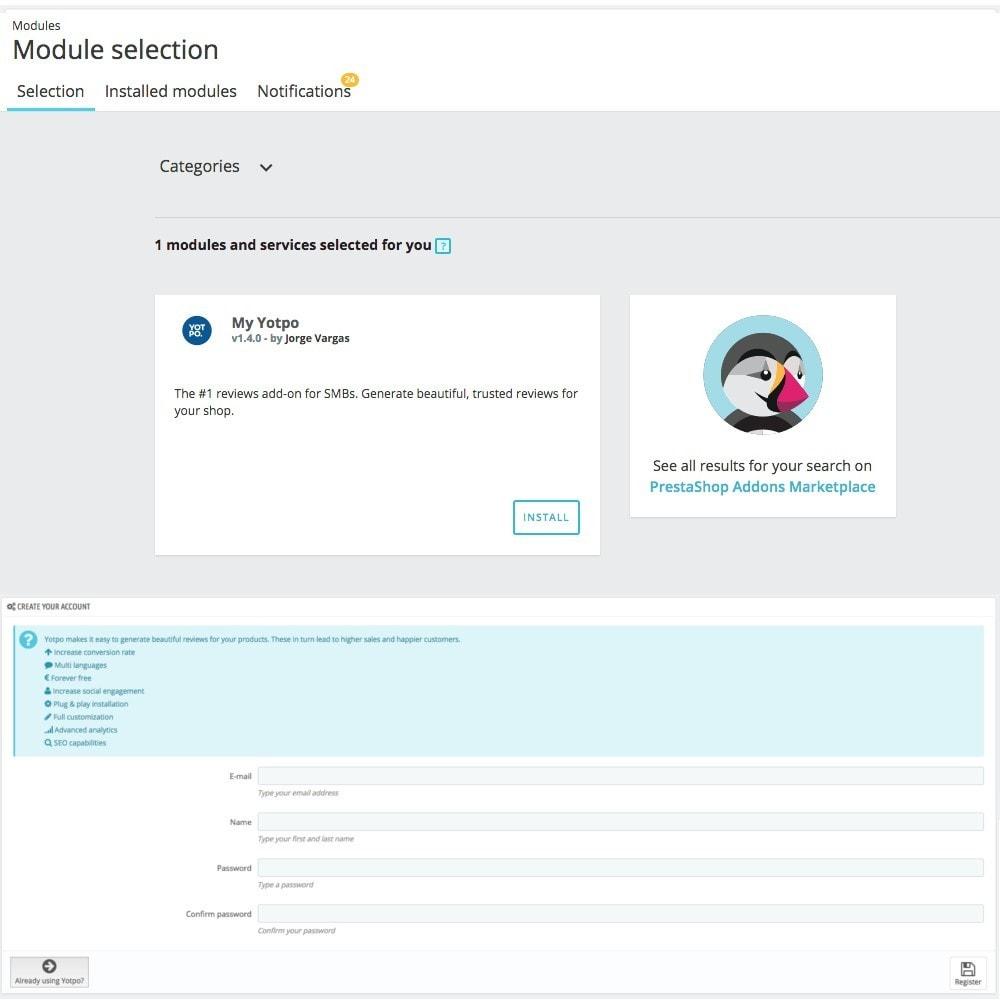 module - Opiniões de clientes - Yotpo - 3