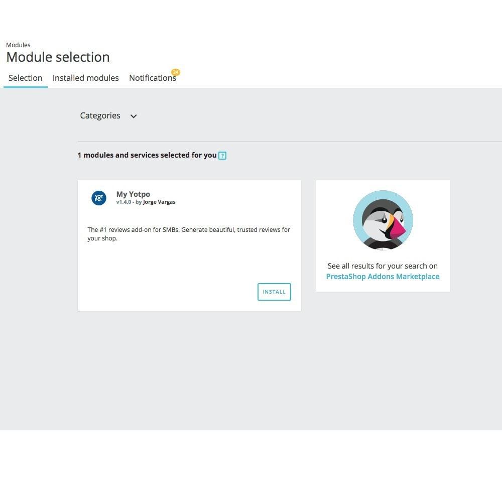 module - Comentarios de clientes - Yotpo - 6