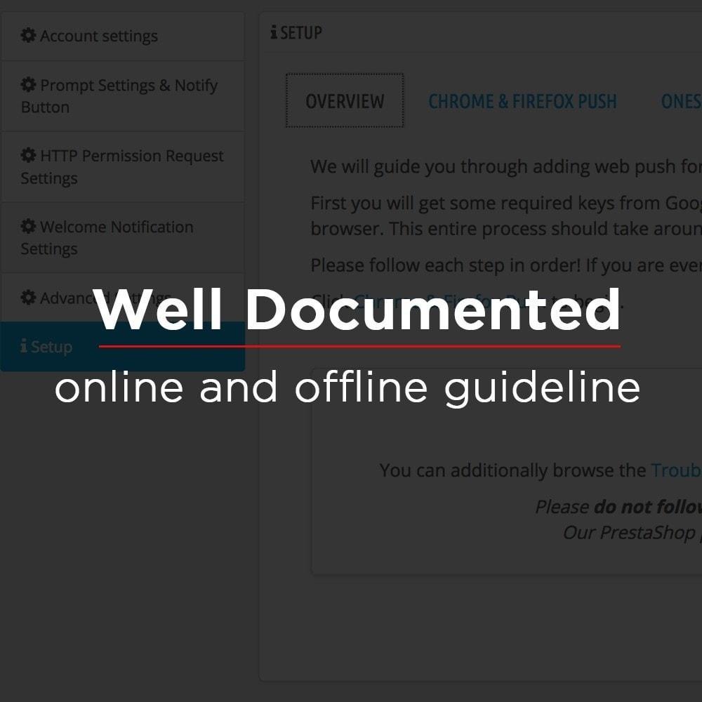 module - E-mails & Notifications - Onesignal Web Push Notifications - 11