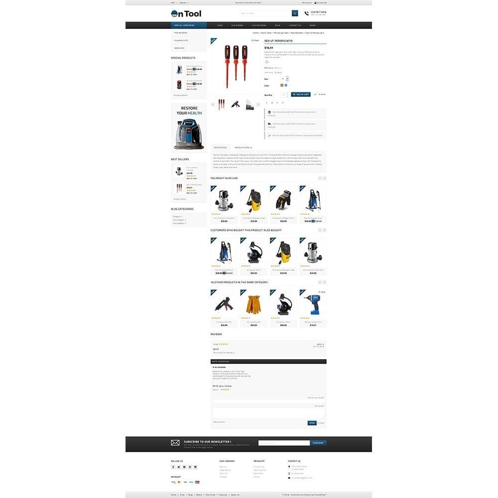 theme - Auto & Moto - OnTool Store - 5