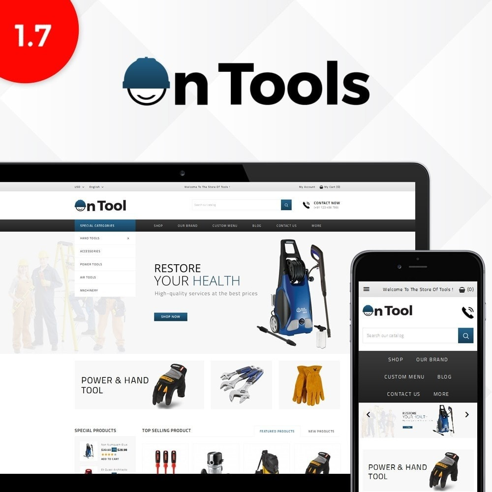 theme - Samochody - OnTool Store - 1