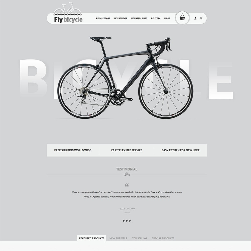 theme - Automotive & Cars - Flybicycle Store - 2