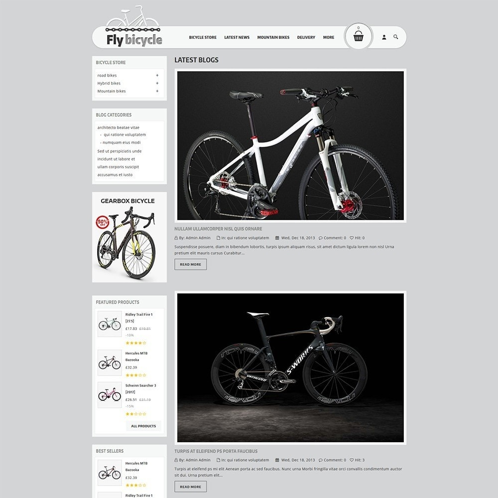 theme - Automotive & Cars - Flybicycle Store - 7