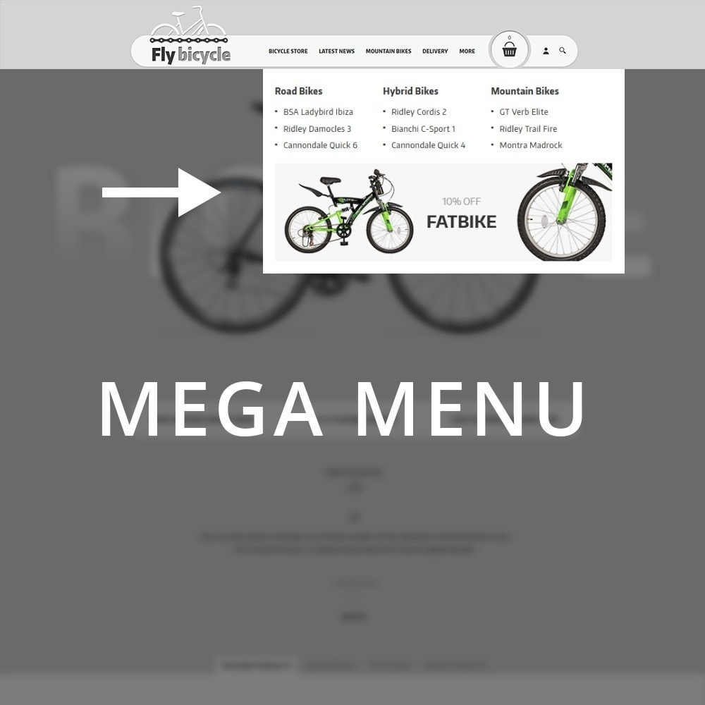 theme - Carros & Motos - Flybicycle Store - 9