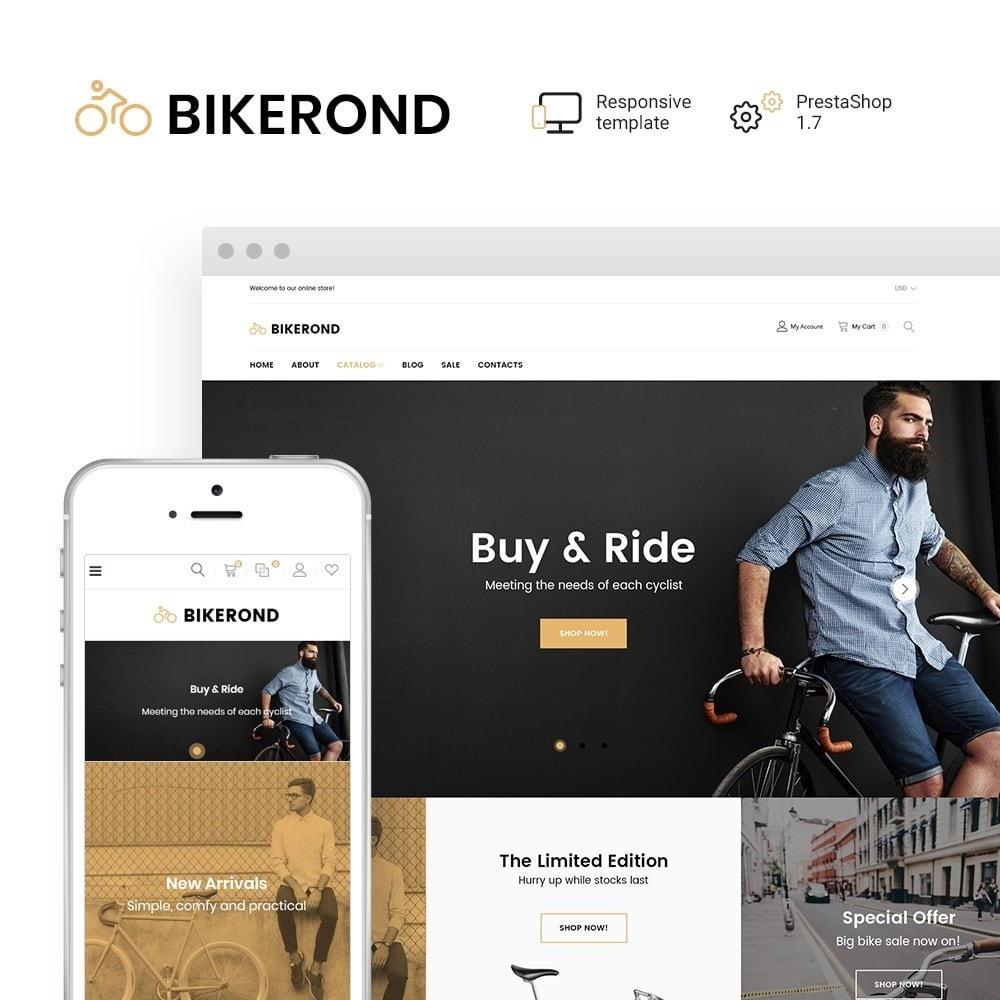 theme - Deportes, Actividades y Viajes - BikeRond - Bike Shop - 1