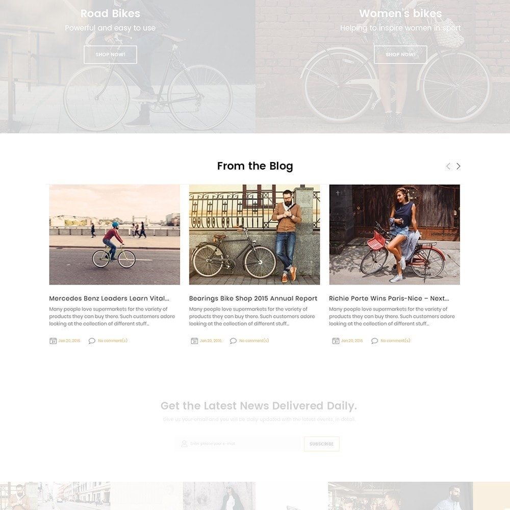 theme - Sport, Activiteiten & Reizen - BikeRond - Bike Shop - 4