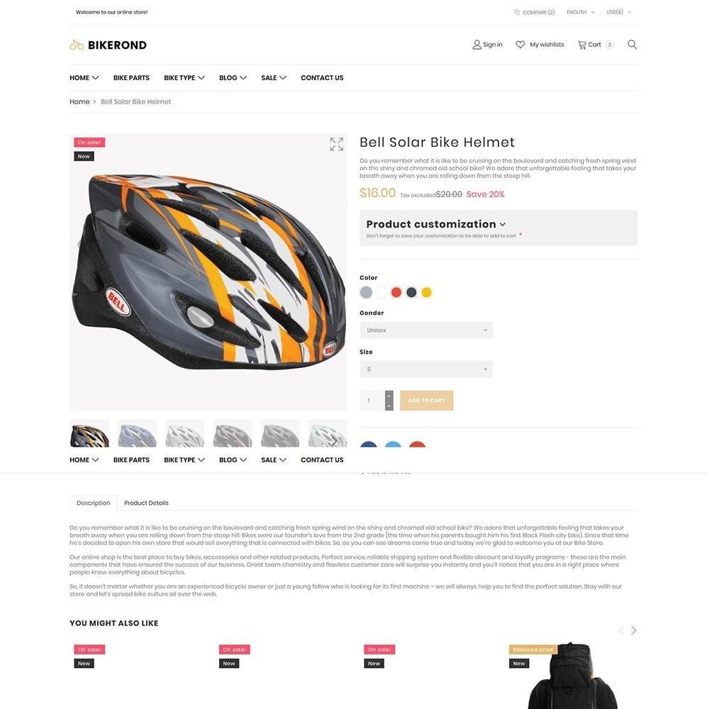 theme - Deportes, Actividades y Viajes - BikeRond - Bike Shop - 6
