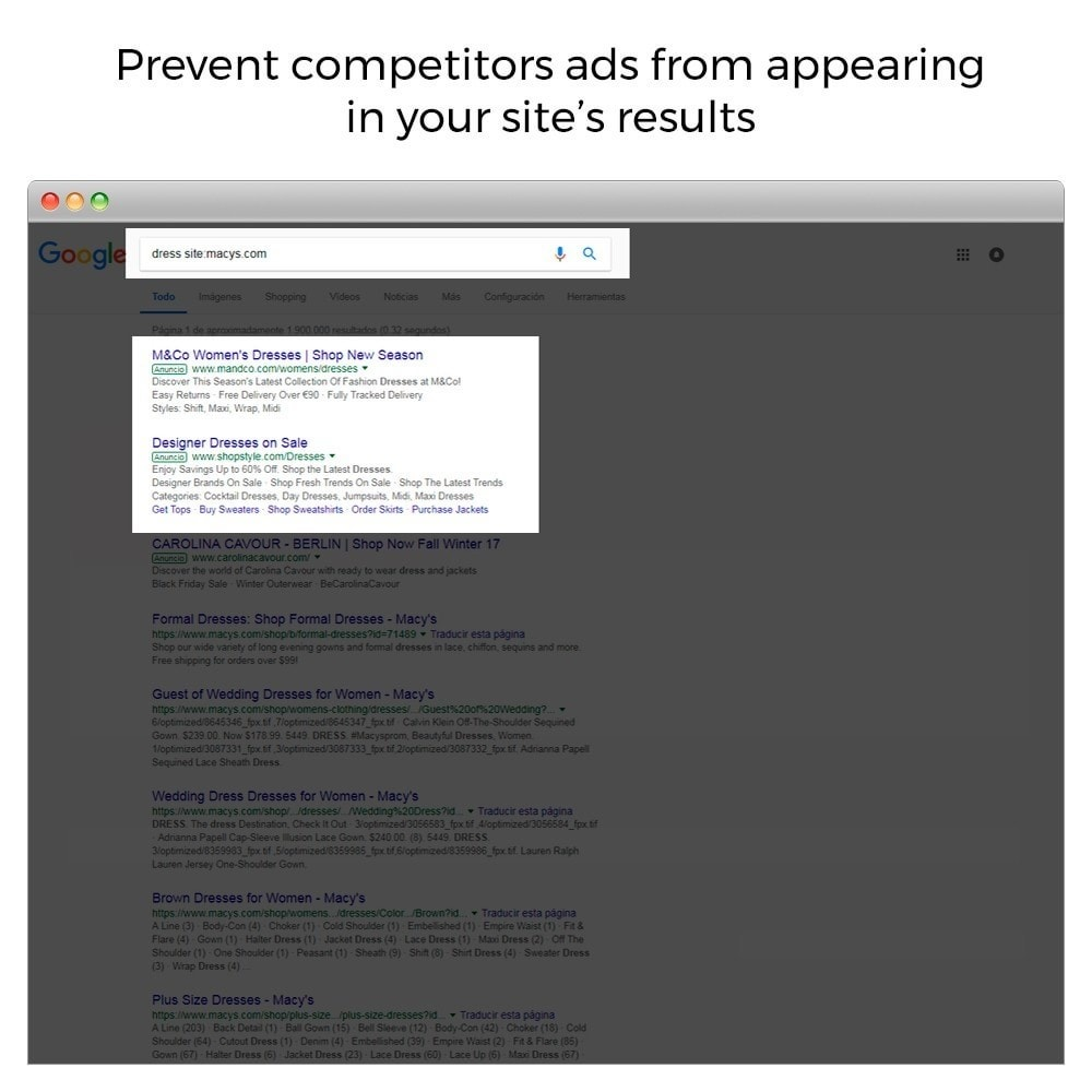 module - SEO (Indicizzazione naturale) - Google Sitelink Searchbox - 3
