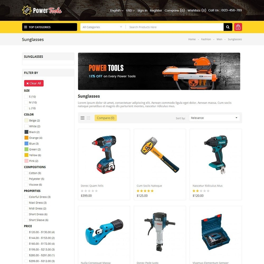 theme - Heim & Garten - Power Tools Store - 3