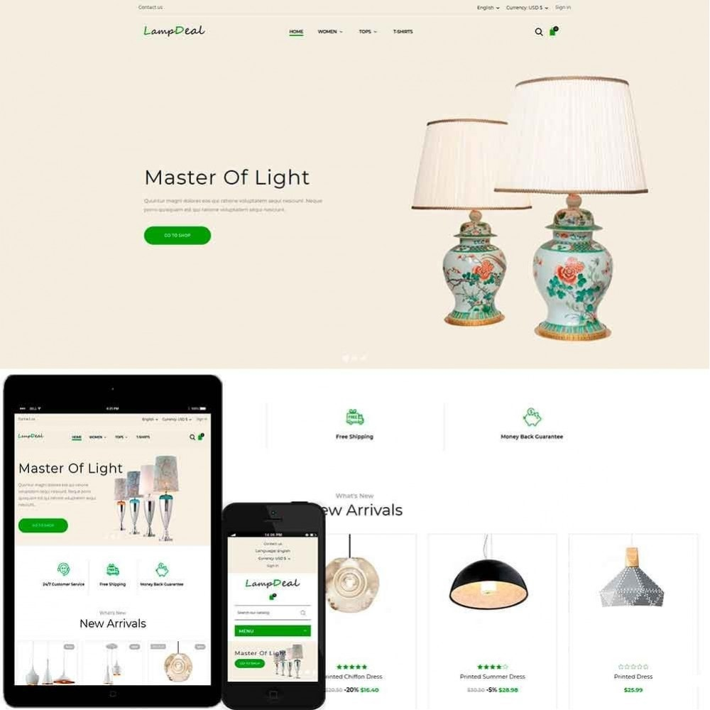 theme - Дом и сад - LampDeal - 1
