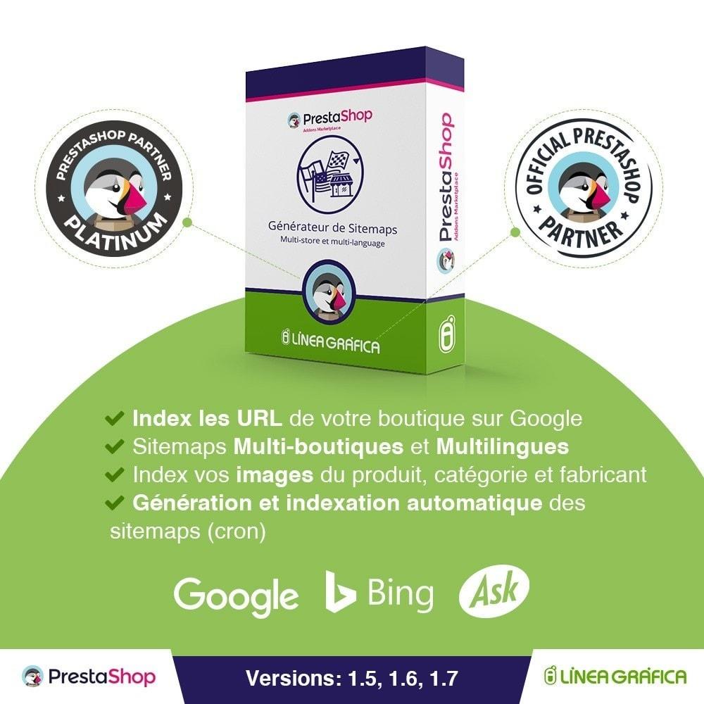 module - SEO (référencement naturel) - Sitemaps Pro Multilingues et Multi-Boutiques - SEO - 1