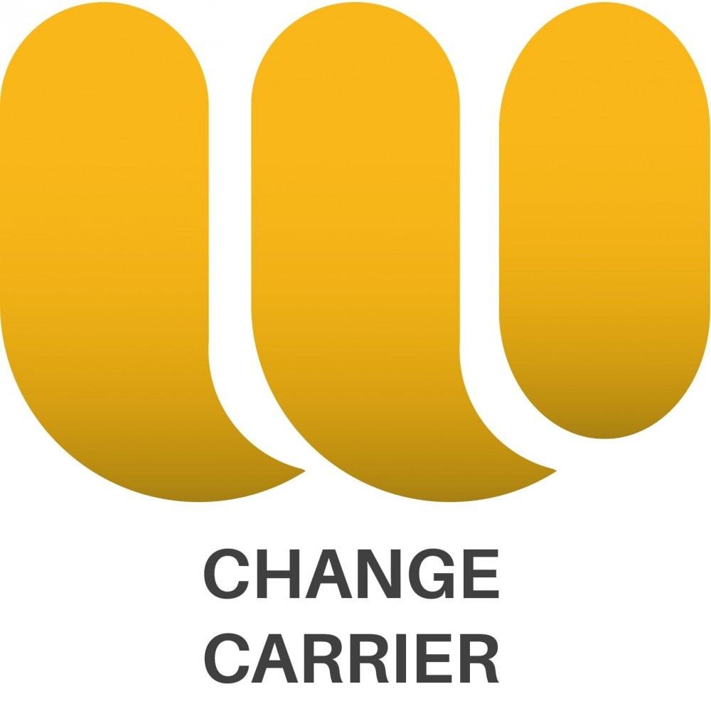module - Edición Rápida y Masiva - Cambiar transportista de pedidos de forma masiva - 1