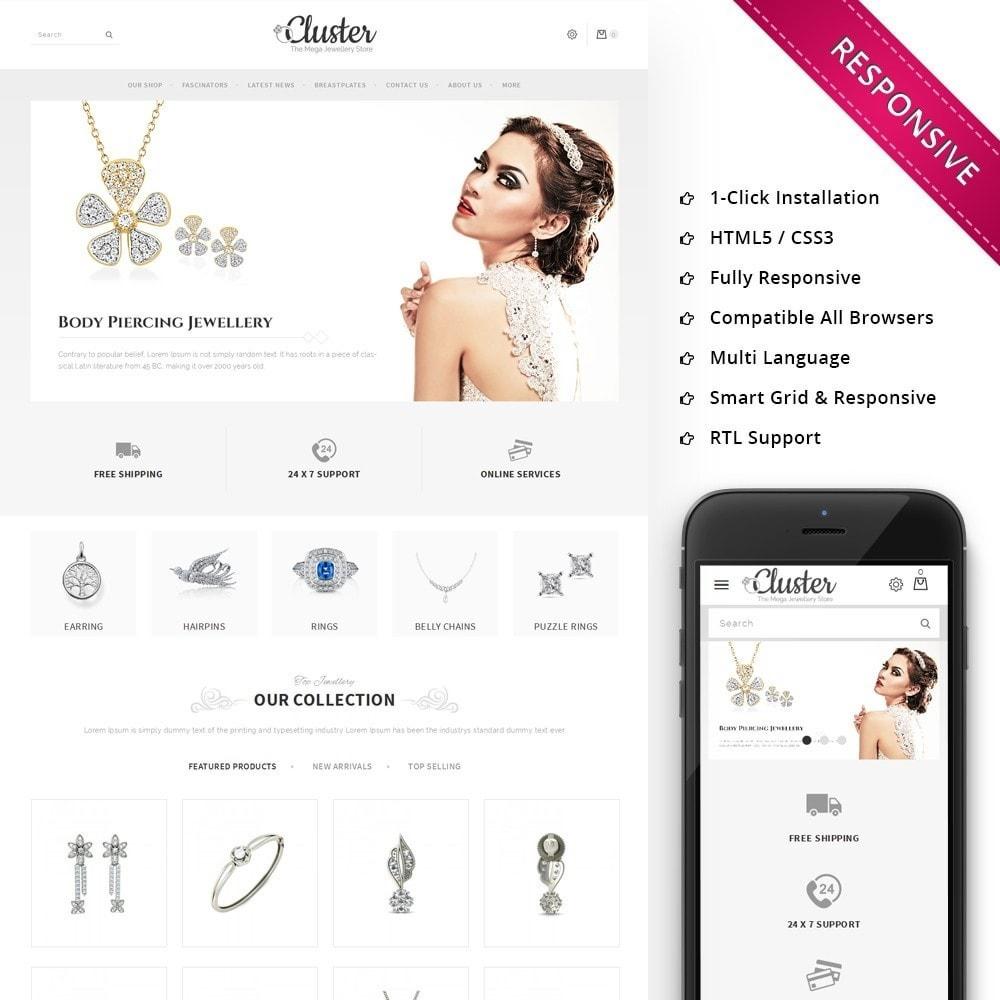 theme - Joalheria & Acessórios - Cluster Jewellery Store - 1