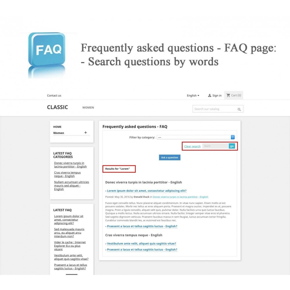 module - Preguntas Frecuentes - Frequently asked questions - FAQ - 11