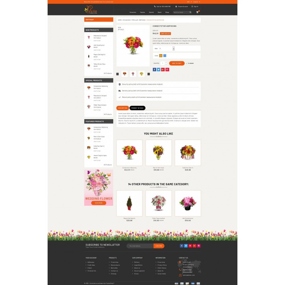 theme - Regali, Fiori & Feste - Flora - Flower Store - 5