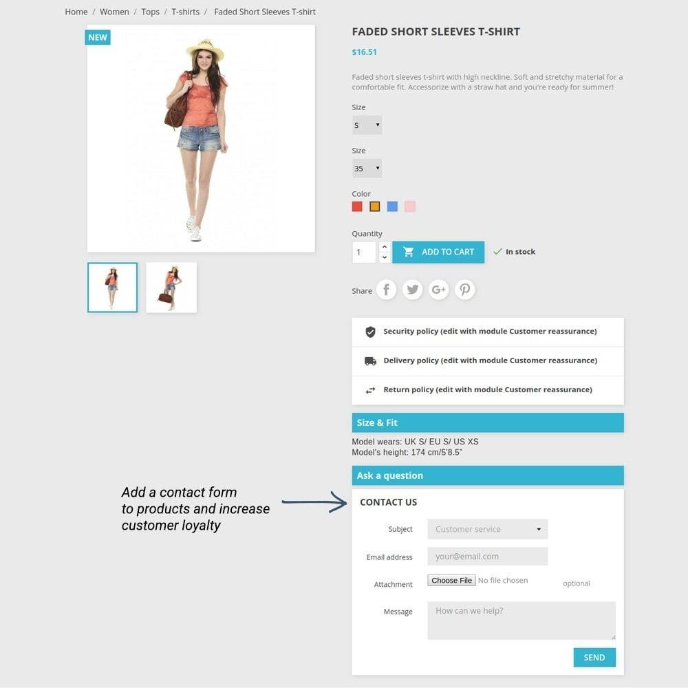 module - Altre informazioni & Product Tab - Product Tabs - 7