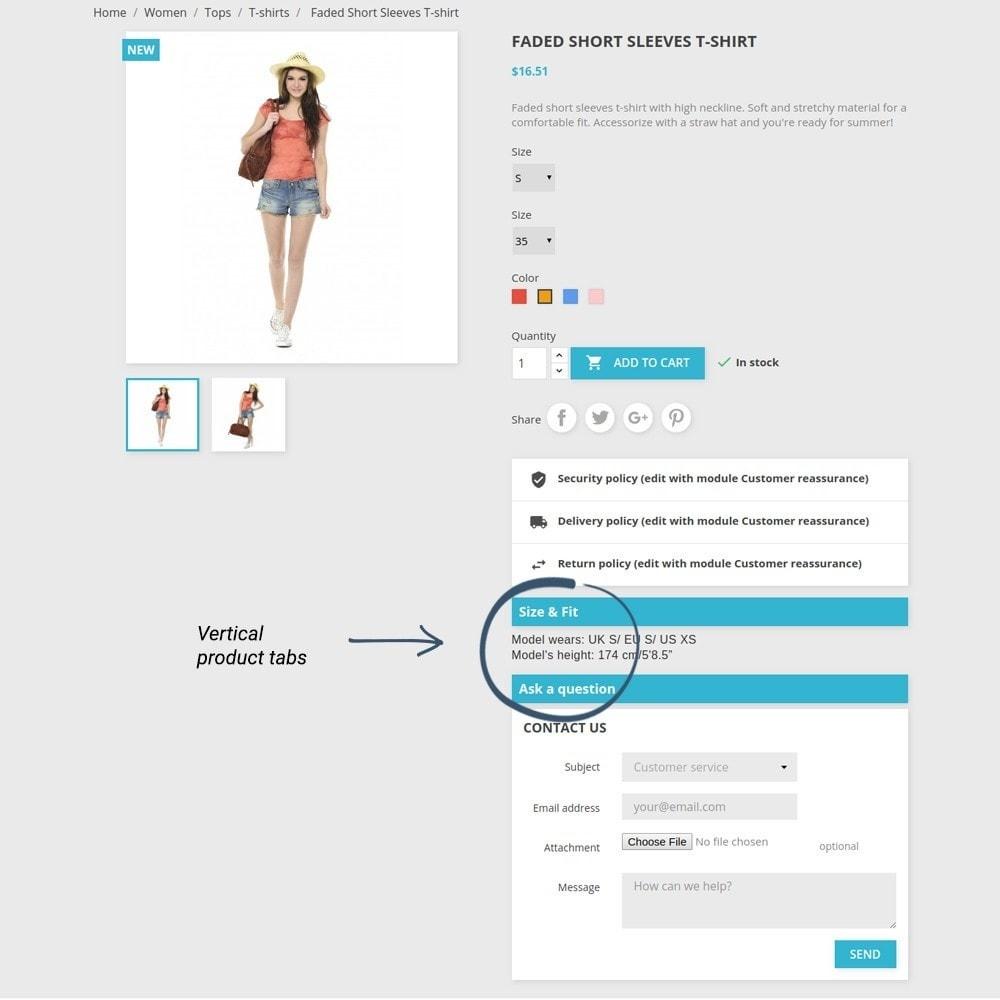 module - Altre informazioni & Product Tab - Product Tabs - 13