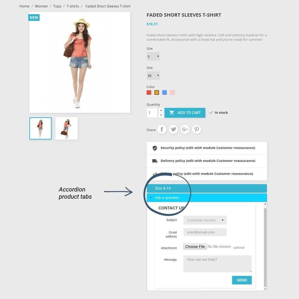 module - Bijkomende Informatie - Product Tabs - 14