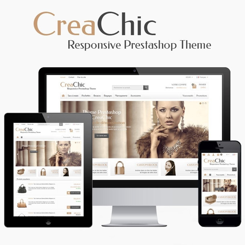 theme - Moda & Calzature - CreaChic - 1
