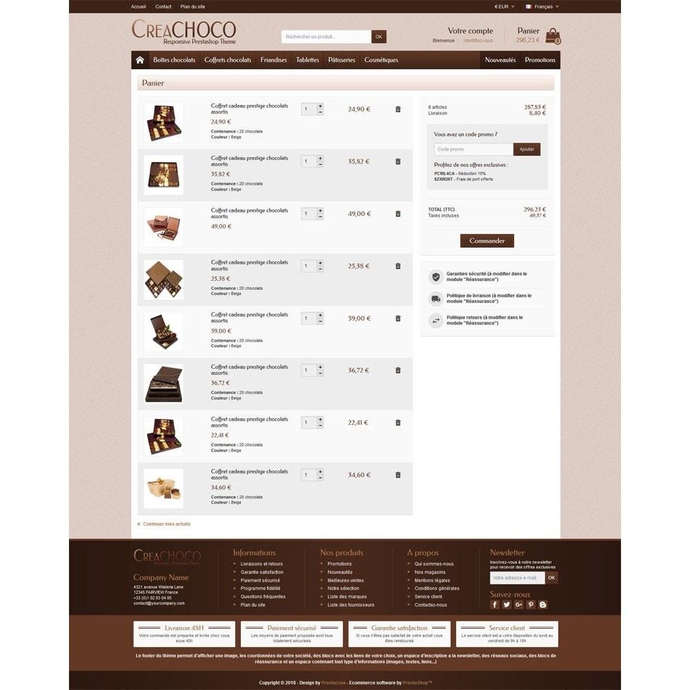 theme - Żywność & Restauracje - CreaChoco - 5