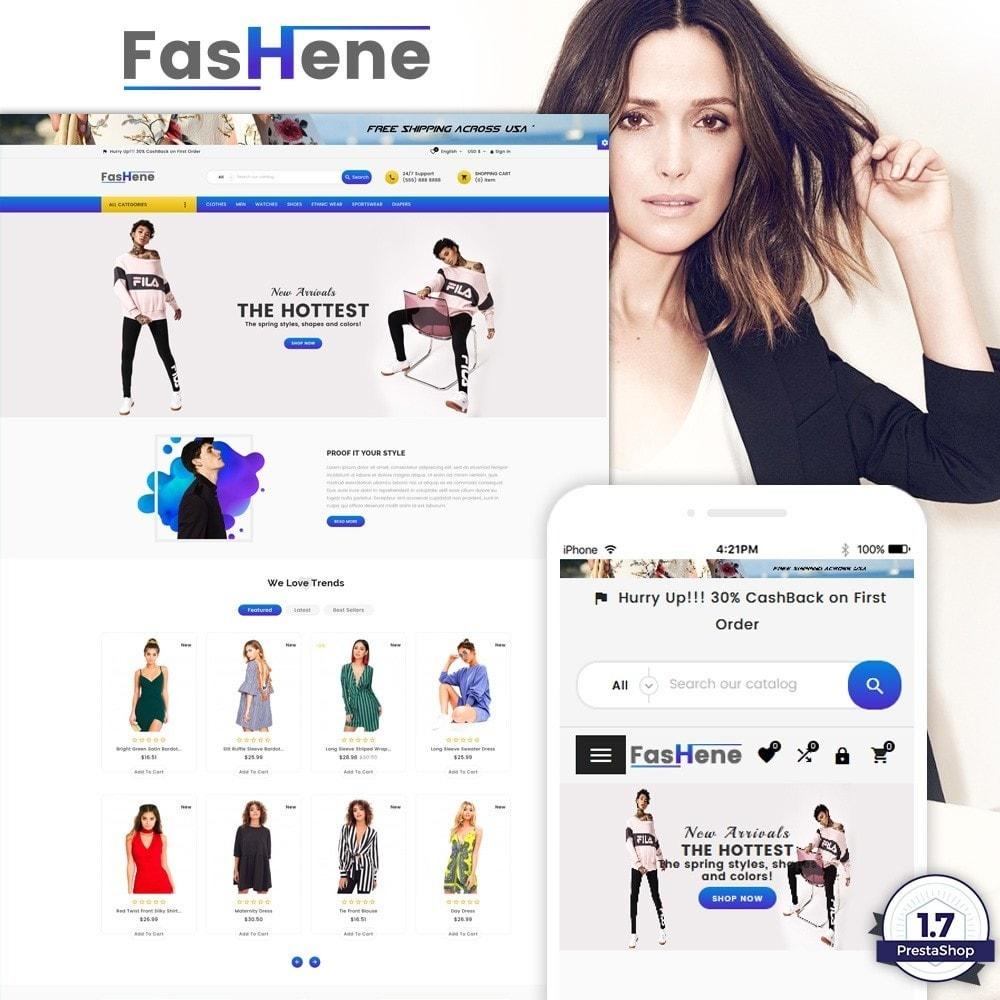 theme - Moda & Calzature - FasHene – Fashion Super Store v2 - 1