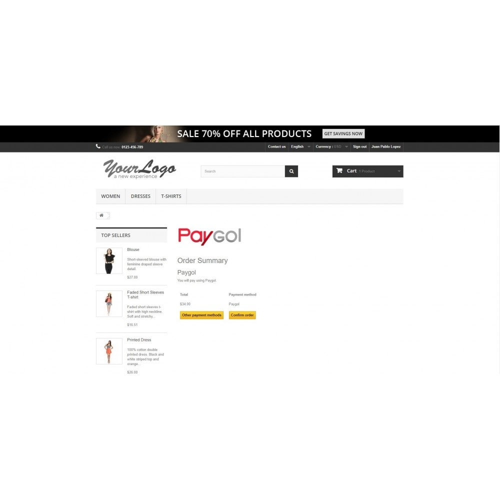 module - Payment by Card or Wallet - Paygol Online Payment Gateway - 1