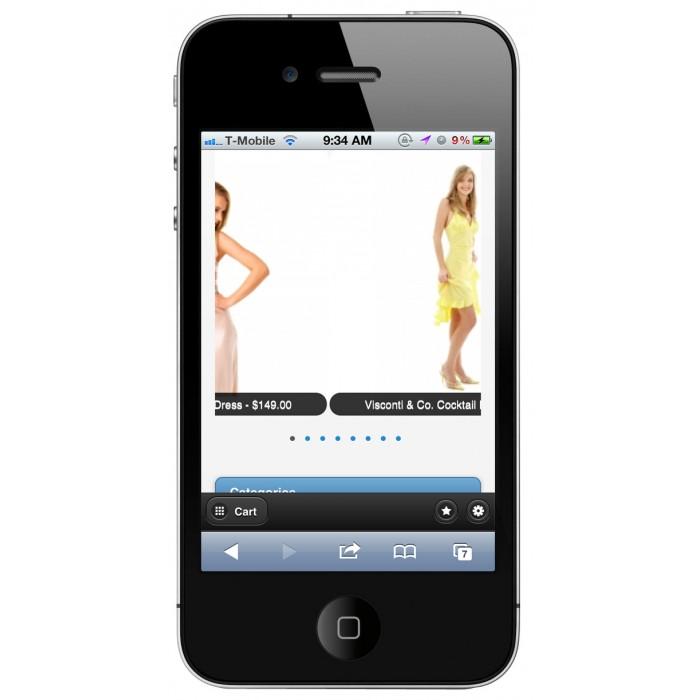 module - Mobile - PrestaShop Mobile Template - 1