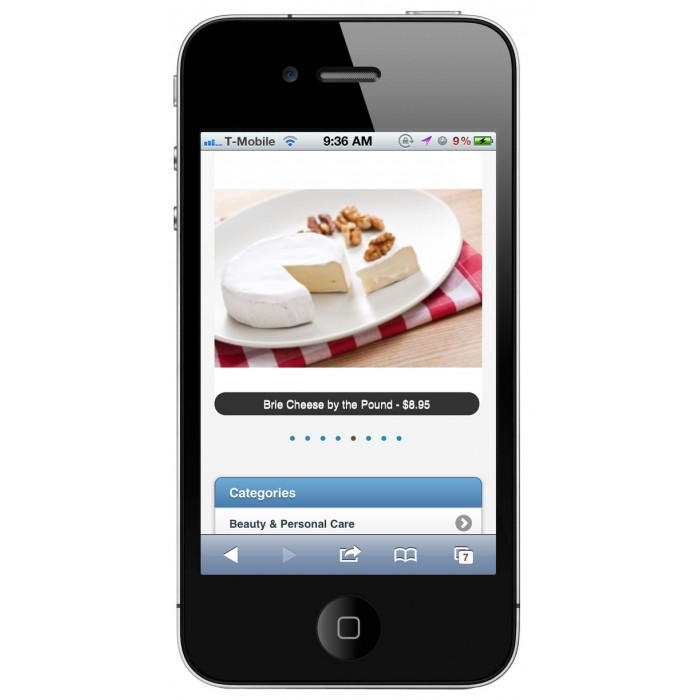 module - Dispositivi mobili - PrestaShop Mobile Template - 4