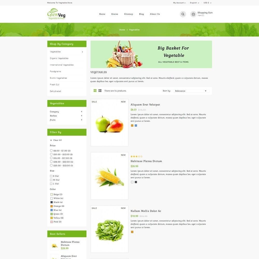 theme - Gastronomía y Restauración - Glen Veg Store - 4