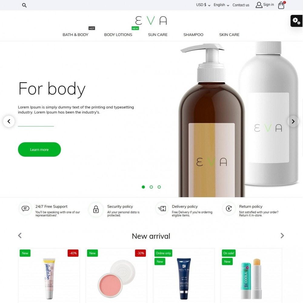 theme - Saúde & Beleza - Eva Cosmetics - 2