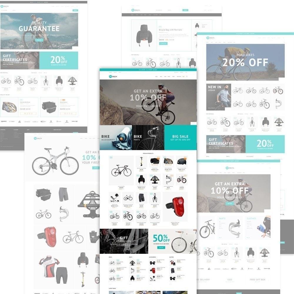 theme - Deportes, Actividades y Viajes - Impresta - para Tienda de Bicis - 3