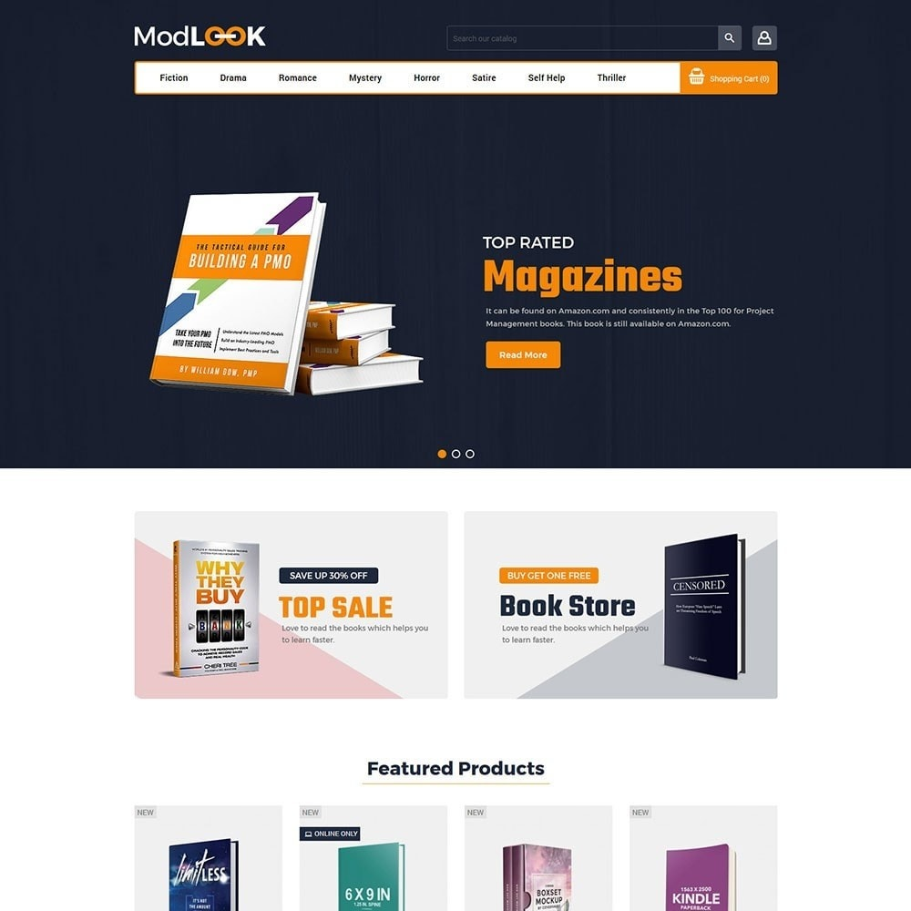 theme - Art & Culture - Modlook - Books Online Store - 2