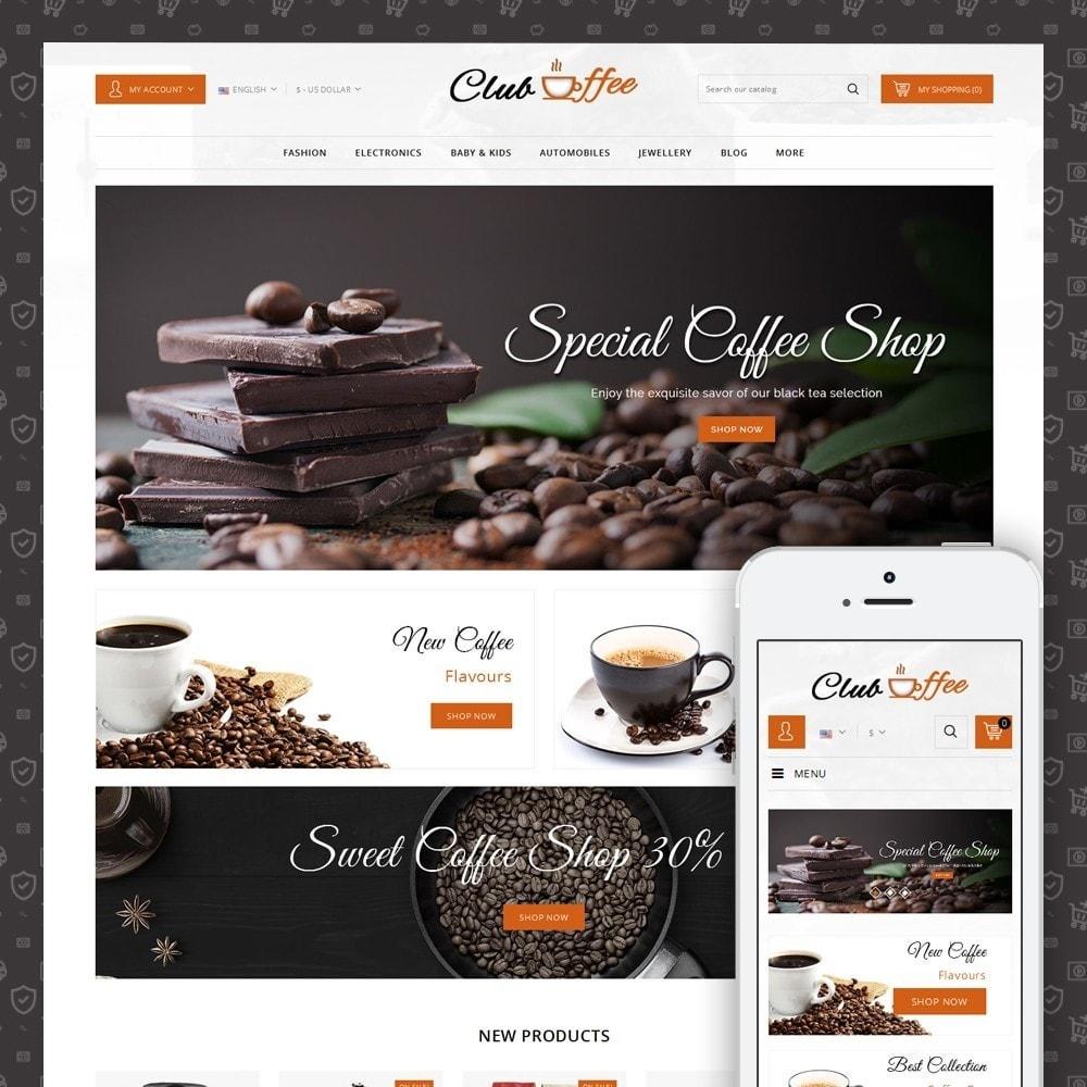 theme - Eten & Restaurant - Club Coffee Shop - 1
