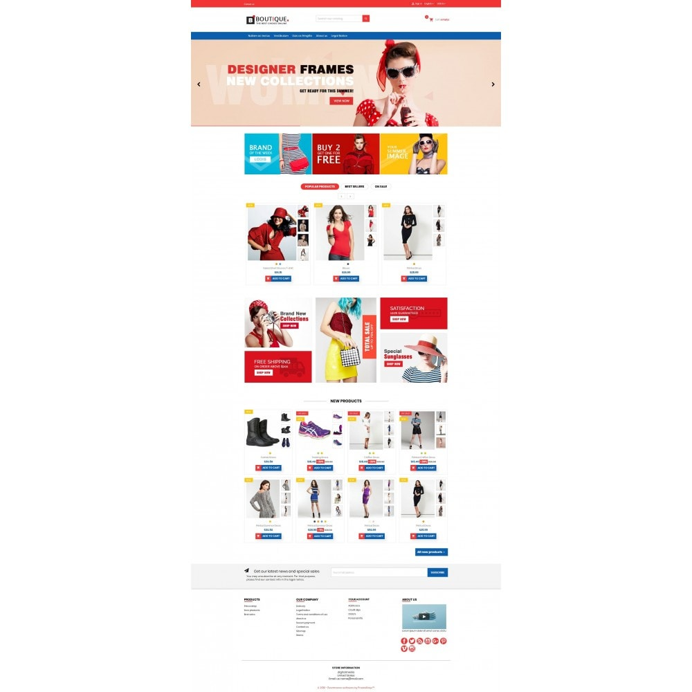 theme - Fashion & Shoes - Boutique Fashion Mutlipurpose Premium DFX006 - 14