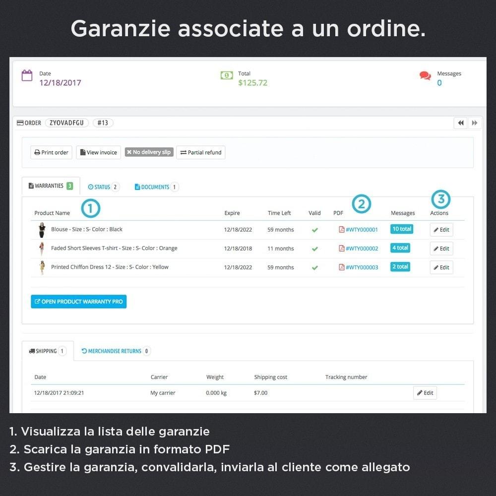 module - Gestione Ordini - Garanzia del Prodotto Pro - 6