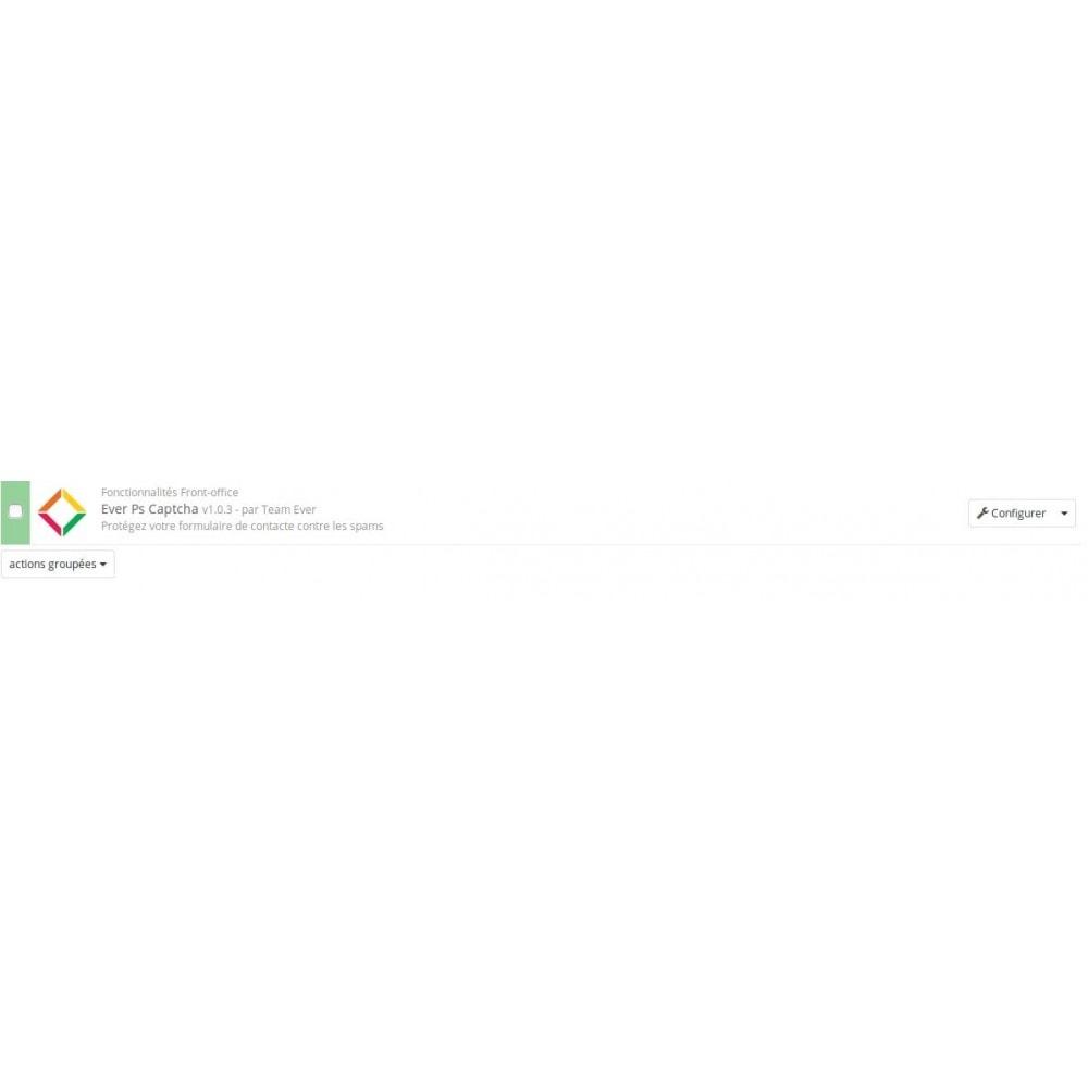 module - Formulaires de Contact & Sondages - Google Captcha sur formulaire de contact - 1