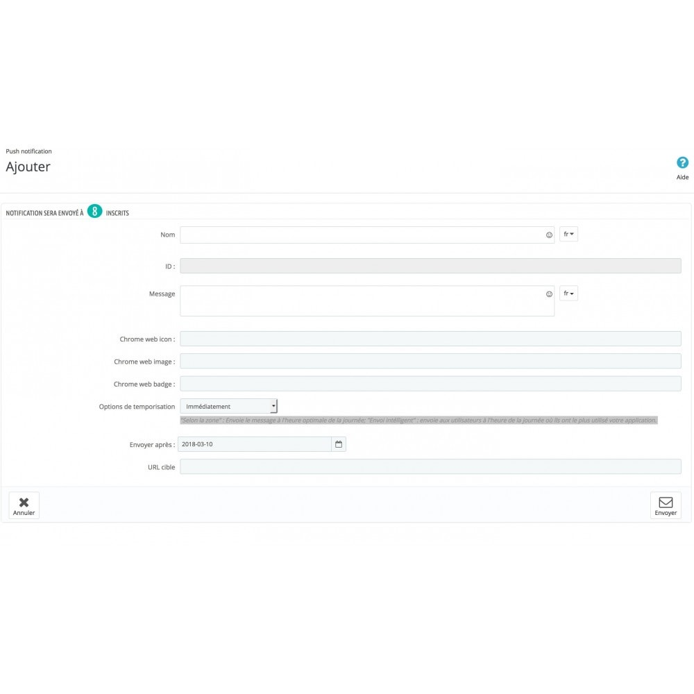 module - Mobile - PWA + notification Push - 6