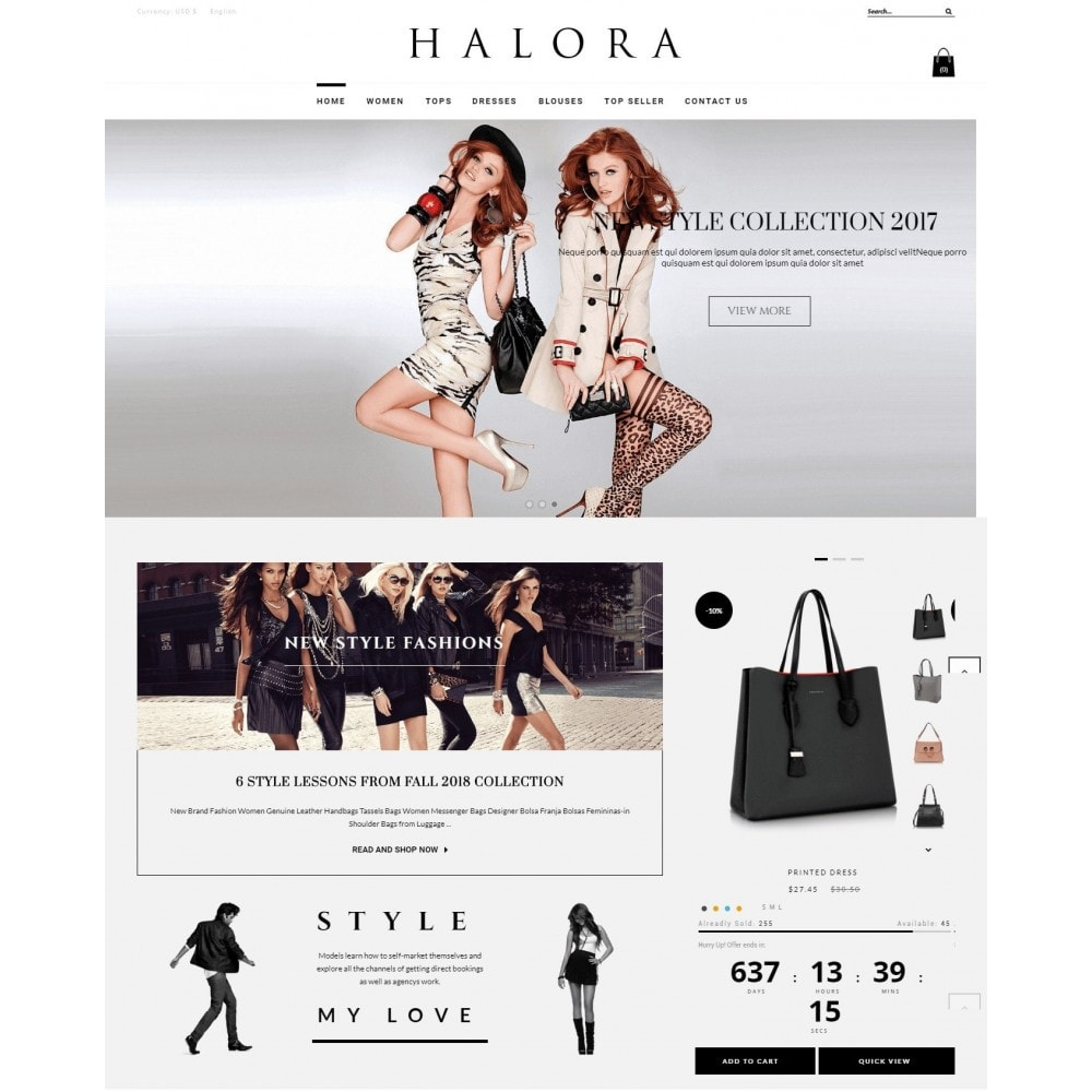 theme - Moda & Obuwie - Halora Fashion Store - 2