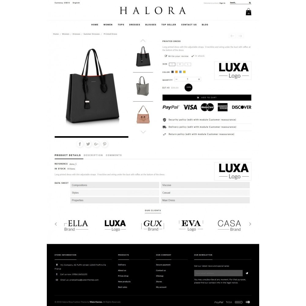 theme - Moda & Obuwie - Halora Fashion Store - 6