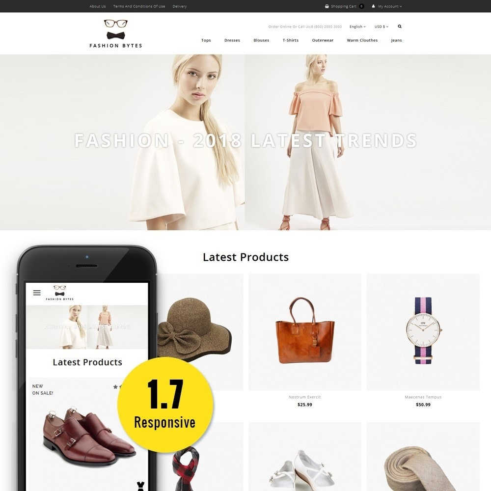 theme - Mode & Schoenen - Fashion Bytes Store - 1